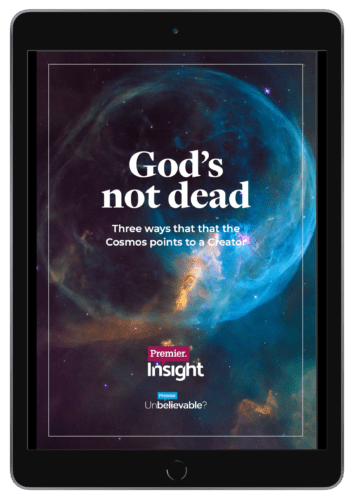 Gods Not Dead Ipad Mockup