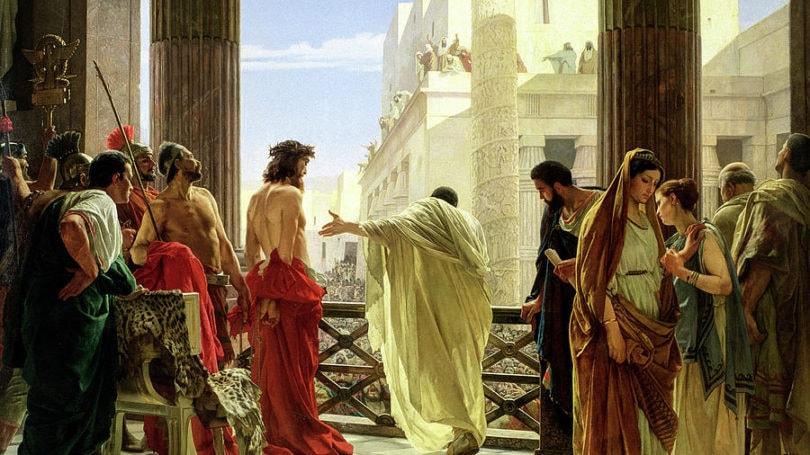 Ecce Homo Behold The Man 1871 Antonio Ciseri